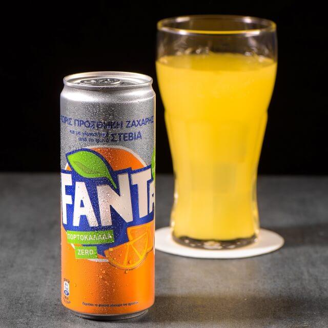 Fanta Πορτοκάλι Stevia